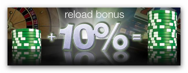 reload bonus wymagany obrót